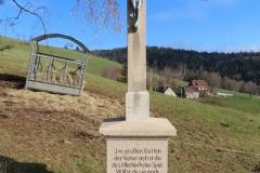 """Renovation des Wegkreuzes """"Auf der Brandeck"""""""