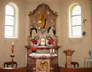 Rosenkranzkapelle innen