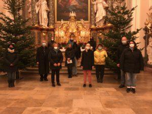 Verabschiedung und Neue Sendung des Gemeindeteams St. Peter